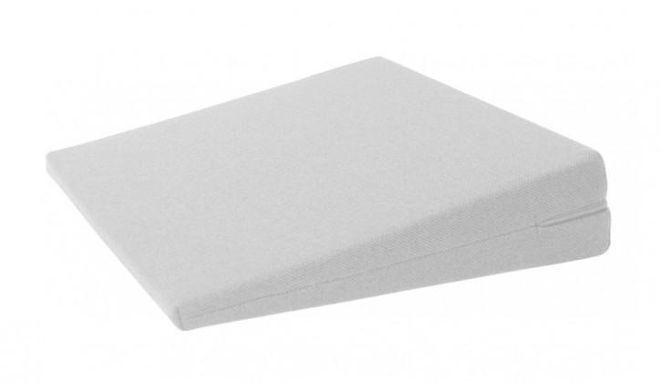 Keilkissen Universal, 40 x 40 x 10/2 cm, weiß