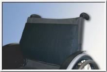 Lendenstützkissen, 28 x 25 x 6 cm, schwarz