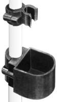 Stockhalter mit Köcher für Rollatoren oder Rollstühle