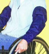 Ärmelschoner für Rollstuhlfahrer