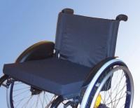Rollstuhlkissen mit Nylonbezug, 5 cm