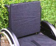 Rollstuhl Rückenkissen, Baumwolle, 3 cm