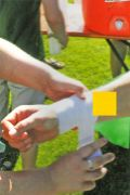 Sport Tape, 3,75 cm x 10 m, gelb, Karton