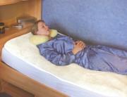 Polyfell Betteinlage, eingefasst, 8 Größen