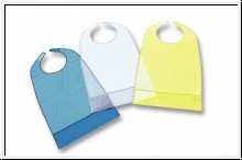 Ess-Schürze PVC, 63 x 40 cm, versch. Farben
