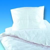 2 teilige PVC Bettgarnitur, weiß