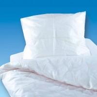 PVC Bettdeckenbezug, weiß