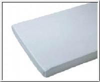 Matratzenschutzbezug, 100 x 200 cm, weiß