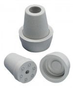 Krückenkapsel 16 mm mit Spikes und Kappe