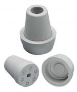Krückenkapsel 18 mm mit Spikes und Kappe