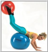 Gymnic Gymnastikball, Ø 75 cm, gelb