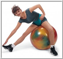 Gymnic Arte Gymnastikball, fantasy, Ø 55 cm