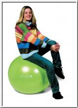 Gymnic Plus, Ø 65 cm, gelb, Sicherheitsball