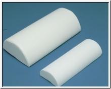 Halbrolle weiß 40 x 15 x 7,5 cm