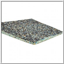 Keilkissen, 45 x 45 x 8/1 cm, Muster Granulat, Sitzkeil