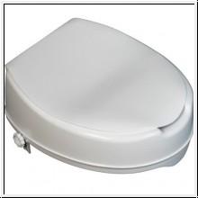 Toilettensitzerhöhung mit Deckel, 10 cm hoch