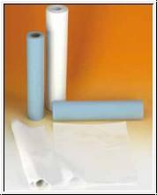 Liegenabdeckung  blau, 50cm x 50m