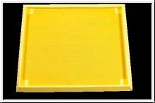 Desinfektions und Durchlaufschleuse, gelb
