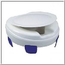 """Toilettensitzerhöhung """"Clipper"""" mit Deckel, 10 cm hoch"""