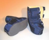 Reha Schuh Nylon, mit Klettverschluss, Größe 25 - 26
