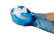 Arktis Baumwolljersey Latex Kälte-Schutzhandschuh 12 Paar