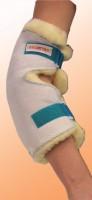 Ellenbogenschoner mit Innenfutter aus med. Schaffell, Einzeln