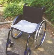 Polyfell Sitzauflage für Rollstühle