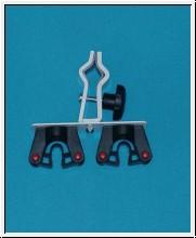 10 Stück Krückenhalter und Gehstockhalter, Toolflex