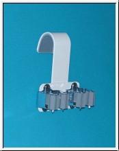 10 Stück Krückenhalter und Gehstockhalter zum Einhängen, Prax