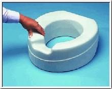 """Toilettensitzerhöhung """"Soft"""", 11 cm hoch, weicher Sitzbereich"""