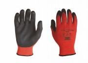 Rottex Polyester-Strickhandschuh, flüssigkeitsdicht, 12 Paar