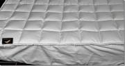 Bettauflage Komfort Plus, braun oder weiß