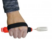 Besteckhalter mit Klettband