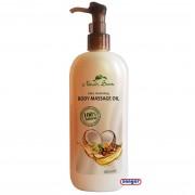 Massage Öl mit 100% natürlichen Inhaltsstoffen, 380 ml