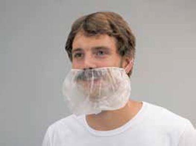 Bartschutz, 100 Stück im Polybeutel