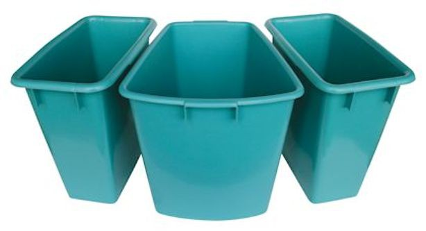 Fußbadewannen Set, Farbe türkis
