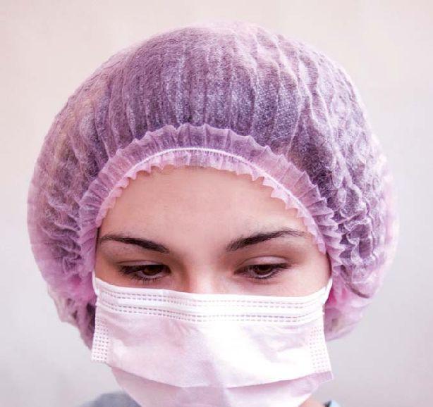 Mundschutz mit Gummischlaufe, pink