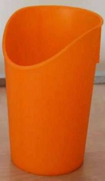 Trinkbecher mit Nasenausschnitt, orange