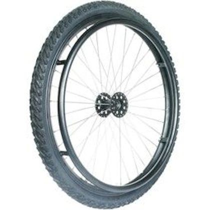 24 Zoll Off Road Rollstuhlrad, Stollenreifen, Nabe 1/2 Zoll