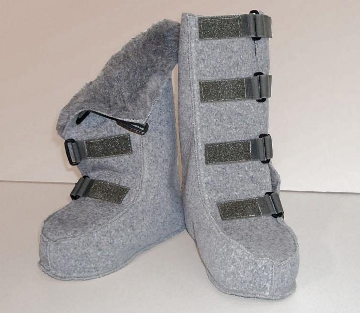 Wärmestiefel, Polyfell, mit Klettverschluss, verschiedene Größen,wärme stiefel