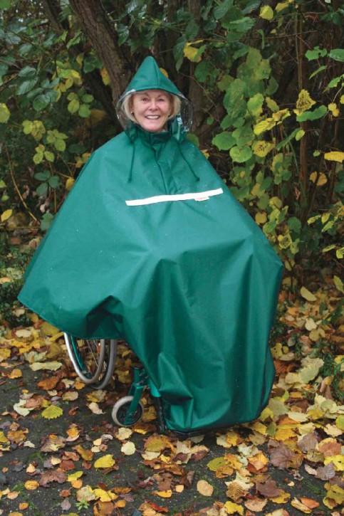 Wetterschutz Poncho für Rollstuhlfahrer, Größe 4