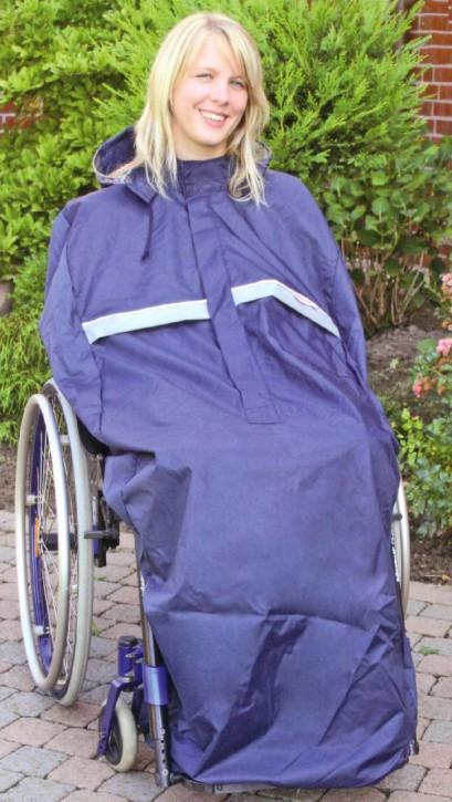 Rollstuhl Regencape ohne Arme, Kind bis 6 Jahre