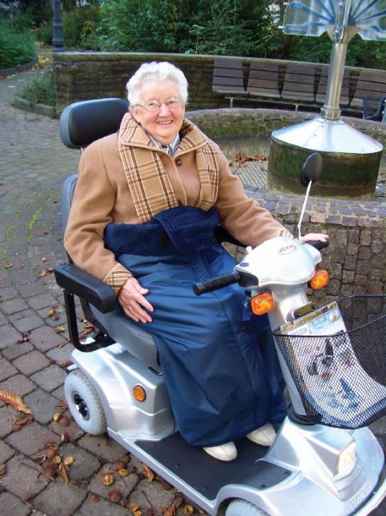 Wickeldecke für Rollstuhl und Scooter