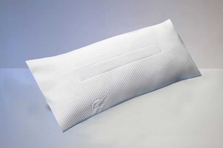 Schlafkissen, Bezug, 80 x 40 cm, antibakteriell