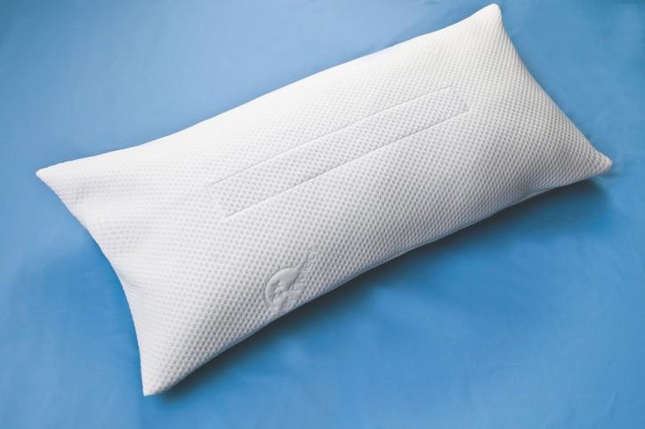 Antibakterielles Schlafkissen, 80 x 40 cm