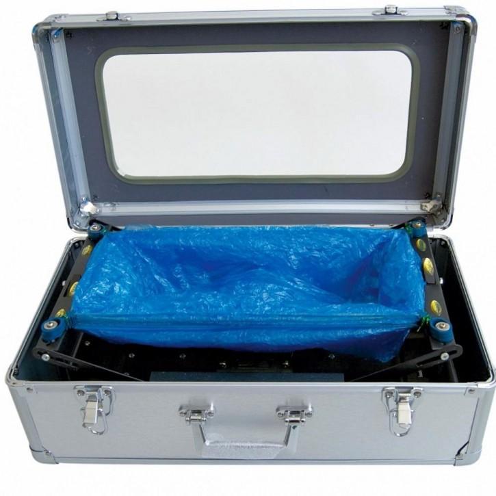 Schuhüberzug-Box, leer