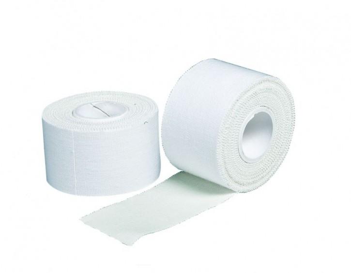 Sport Tape, 2,5cm x 10 m, weiß, Karton 18 Rollen