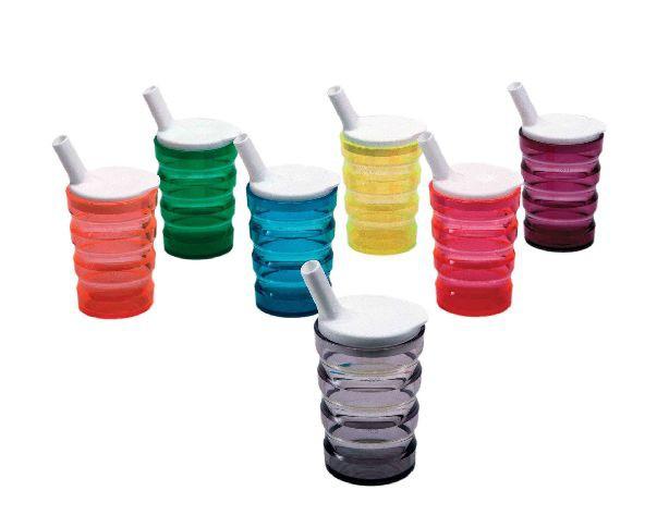Auslaufsicherer Trinkbecher, farbig