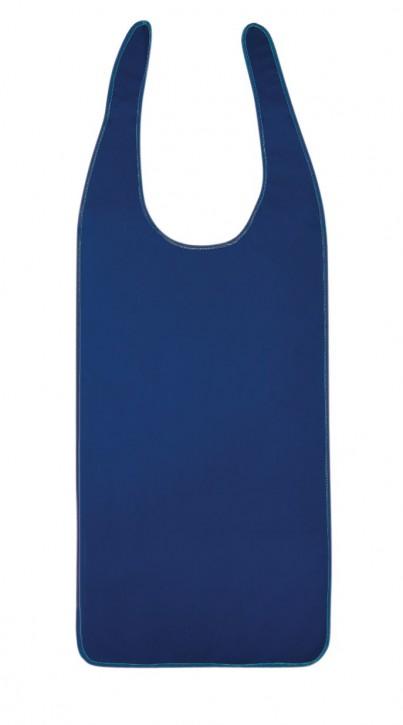 Ess-Schürze Polyurethan, 100 x 40 cm, marine blau