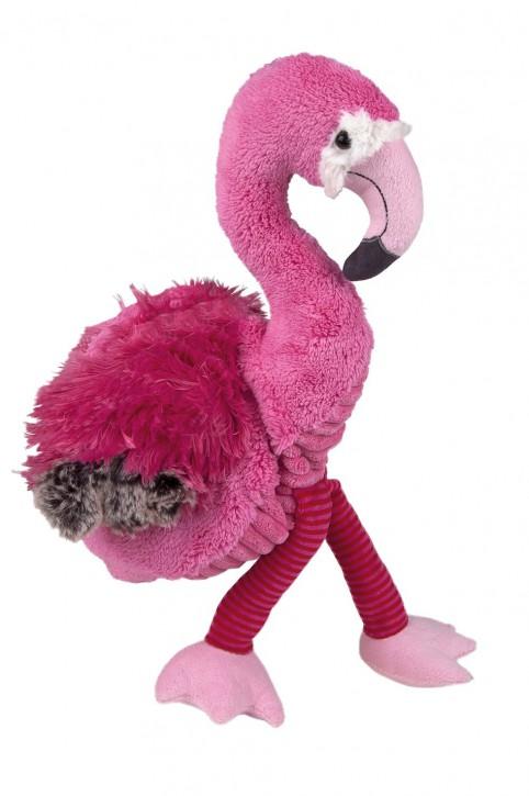 Kirschkernkissen für die Mikrowelle, Flamingo Fiona